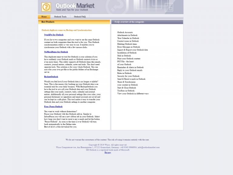 Outlookmarket